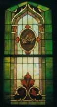Christ Lutheran Church stainglass window